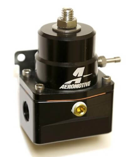 Aeromotive A1000 Fuel Pressure Regulator (6AN) Black Version