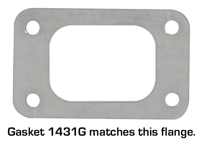 Vibrant T3 Turbo Inlet Gasket
