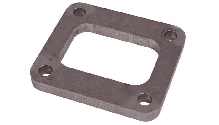 Vibrant T4 Turbo Inlet Flange-SS