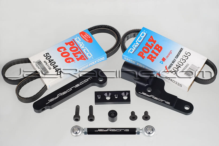 Jay Racing Alternator Relocation Kit - 2G DSM