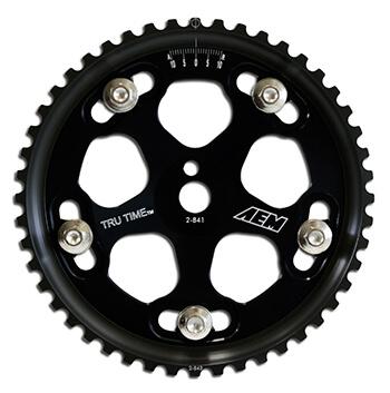 AEM Tru Time Cam Gears-Black (EVO 8)