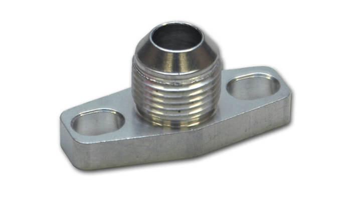 Vibrant Oil Drain Flange-10AN Fitting (for GT15-GT35 Turbos)
