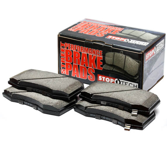 StopTech Street Performance Front Brake Pads-EVO 8/9/X