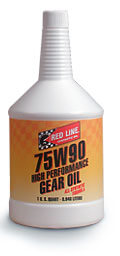 Redline 75W90 Synthetic Gear Oil w/Modifiers