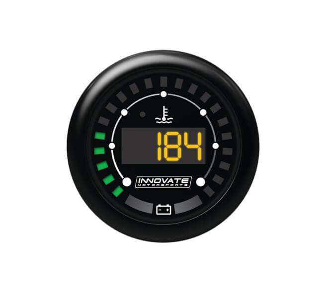 Innovate MTX Series Digital Water Temp / Battery Gauge