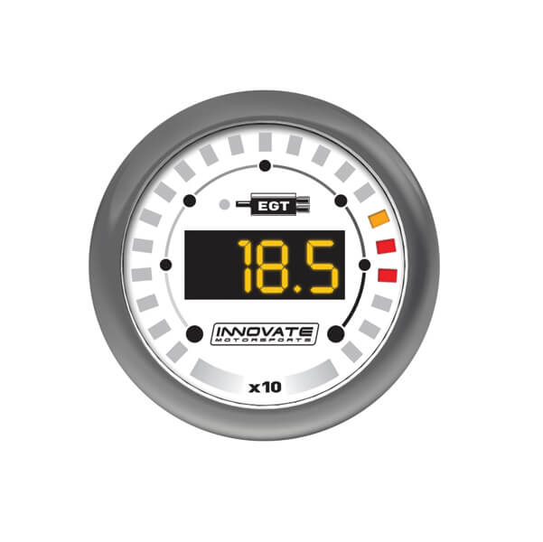 Innovate MTX Series Digital Exhaust Gas Temperature (EGT) Gauge