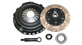 Competition Clutch Stage 3-Segmented Ceramic Clutch Kit-EVO X