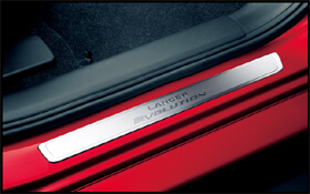 Mitsubishi Scuff Plate-Lancer Evolution Logo