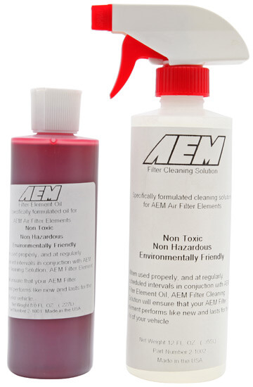 AEM Oiled Air Filter Cleaning System