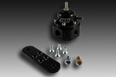 AEM Adjustable Fuel Pressure Regulator-Black