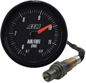 AEM E85 Analog Wideband Gauge-Black