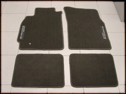 Mitsubishi OEM Floor Mats-EVO 8