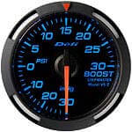 Defi Blue Racer 52mm 30/30 Boost/Vac. Gauge