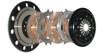 Competition Clutch Twin Disc Clutch Kit-6 Bolt AWD