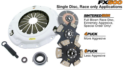 Clutch Masters FX500 6 Puck Race Clutch Kit
