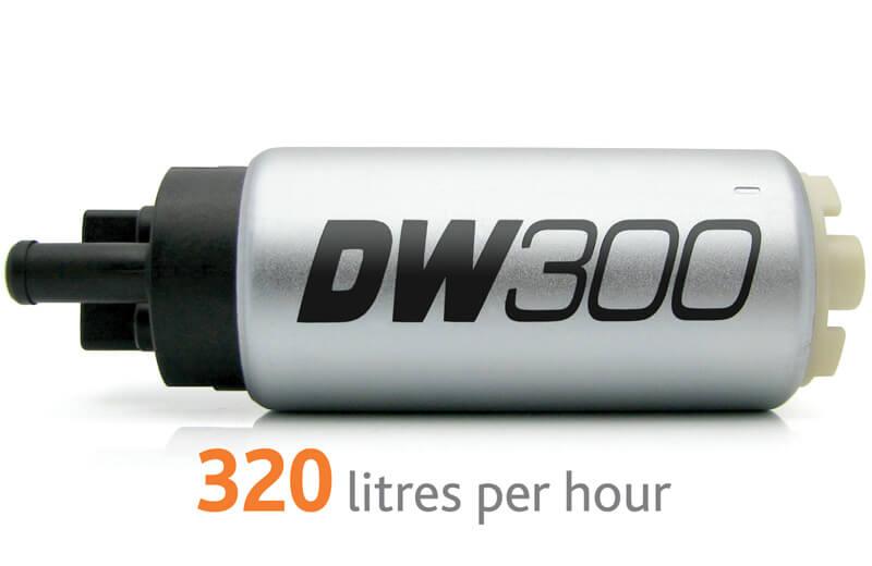 Deatschwerks DW300 Fuel Pump-2G AWD/EVO 8/9