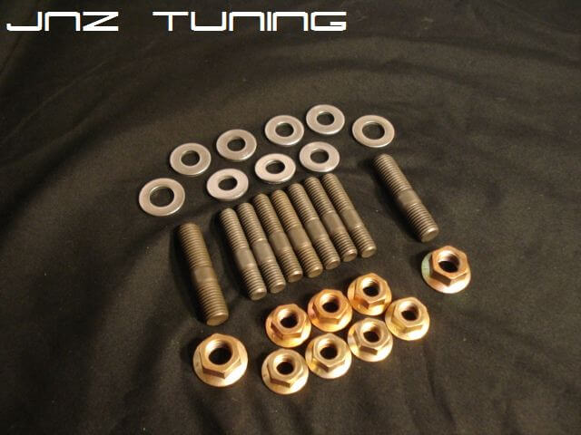 OEM Exhaust Manifold Stud Kit-7 Bolt Head-Flange Style Nuts