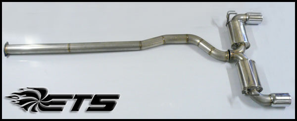 ETS Cat Back Exhaust-EVO X