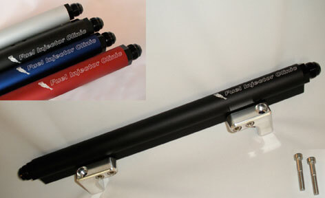 Fuel Injector Clinic DSM Fuel Rail w/ -6AN Fittings