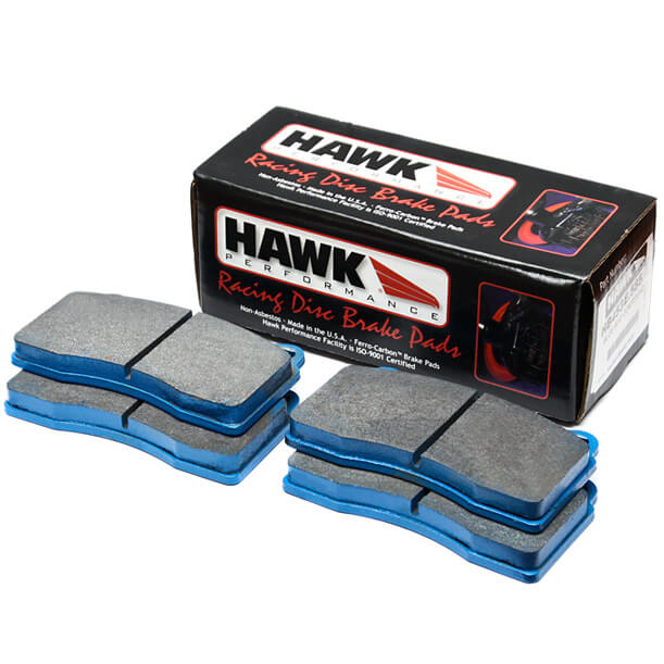 Hawk Blue 9012 Race Front Pad Set (90-99 FWD & 90-92 AWD)