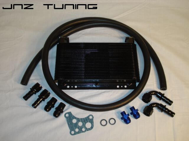 JNZ Oil Cooler Kit w/ Push On Hose- DSM