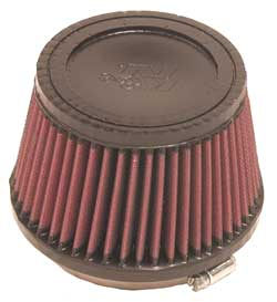 "K&N Air Filter 4"" Inlet 3.5"" Tall"
