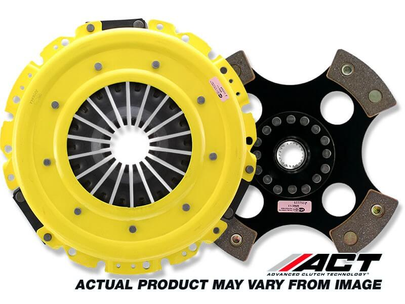 ACT HD Clutch w/Solid 4 Puck Disc (EVO 8/9)