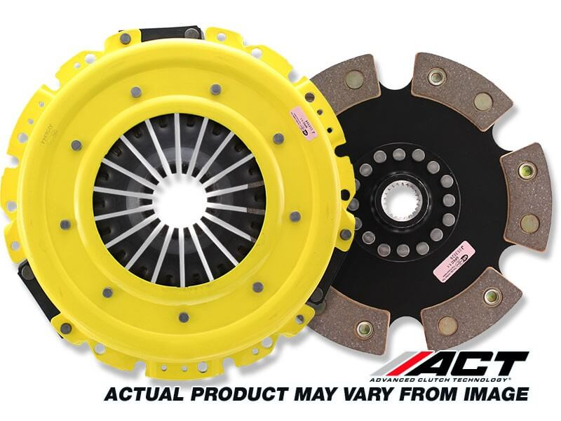 ACT HD Clutch w/Solid 6 Puck Disc (EVO 8/9)