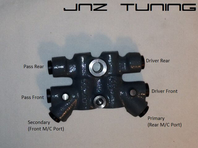 OEM Proportioning Valve Non ABS-2G FWD & AWD