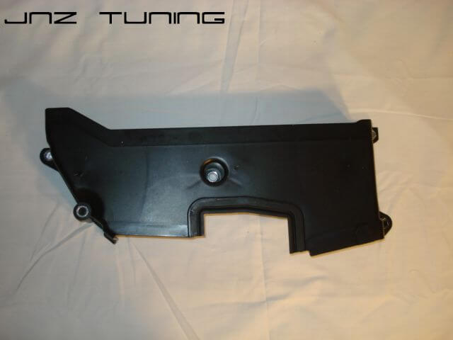 Middle Timing Cover: Late 2G 7 Bolt Black