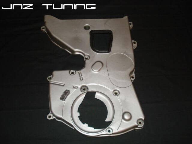 Lower Timing Cover: 1G 7 Bolt Silver