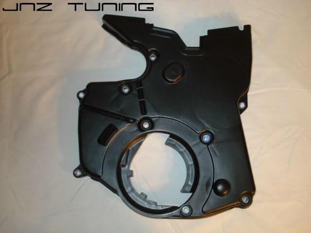 Lower Timing Cover: 2G 7 Bolt Black