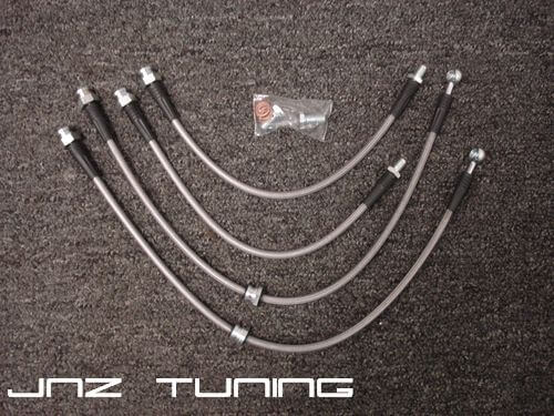 JNZ Tuning Stainless Braided Brake Line kit (2G DSM)