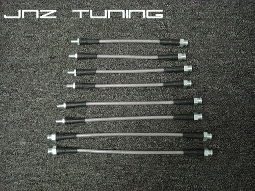 JNZ Tuning Stainless Braided Brake Line kit (1G AWD DSM)