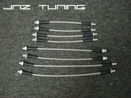 JNZ Tuning Stainless Braided Brake Line kit (91-92 Galant VR-4)