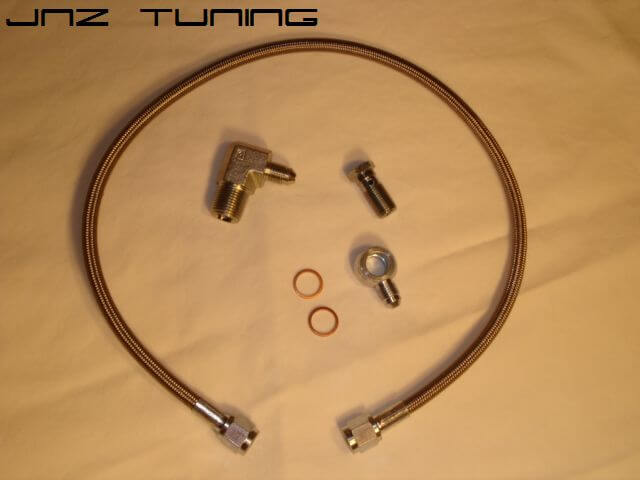 SS Oil Feed Line Kit-Oil Filter Housing to 14B/16G/18G/20G