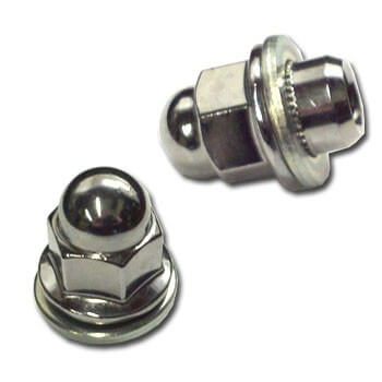 OEM Lug Nut-DSM (Closed with Round Cap)