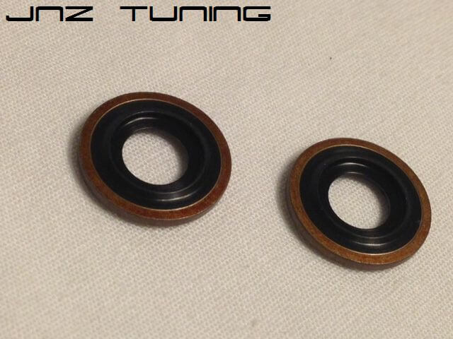 OEM Oil Return Line Crush Washers-DSM/EVO 8/9 (pair)