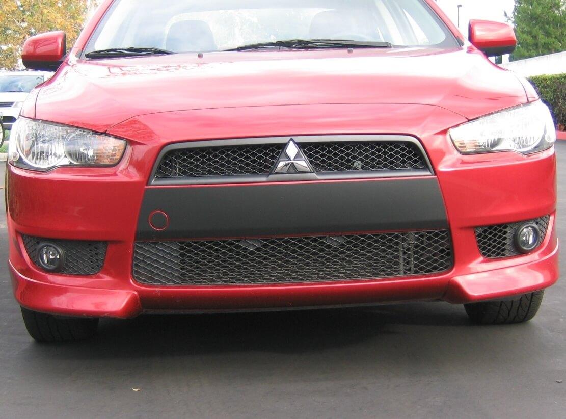 Mitsubishi OEM Black Bumper Styling Film-Ralliart