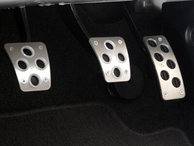 Mitsubishi OEM Silver Pedal Set-EVO 8/9