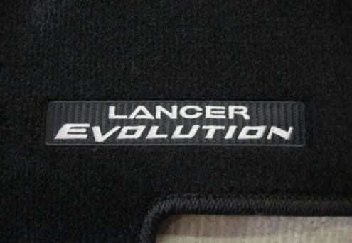 Mitsubishi OEM Floor Mats-Lancer Evolution Logo-EVO X