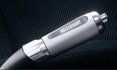 Mitsubishi Aluminum E Brake Handle-Ralliart Logo