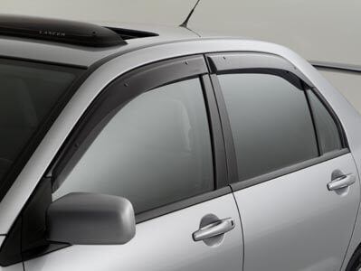 Mitsubishi OEM Window Vent Shades: EVO 8/9