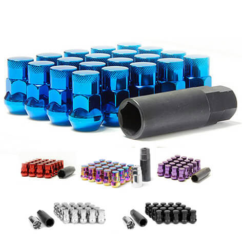 Muteki SR35 Closed End Lug Nuts w/Lock (M12x1.5-20 Pack)