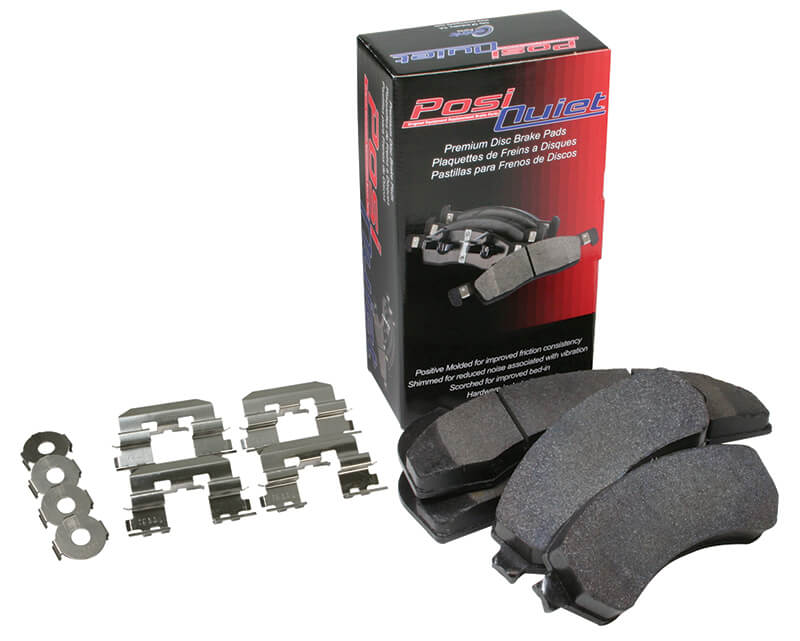 Posi-Quiet Ceramic Rear Pads-Early 2G AWD (Vented Rotors)