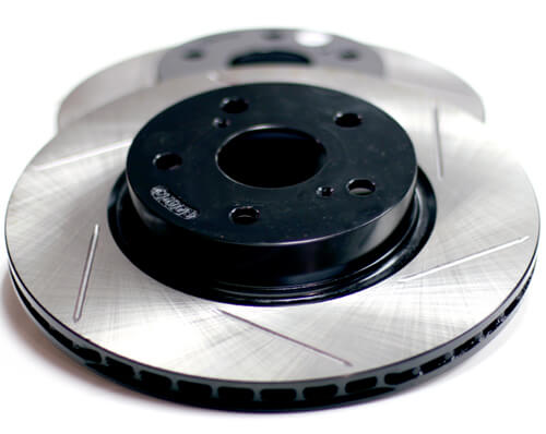 Powerslot Front Rotor Set (Evo X)