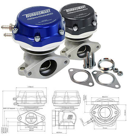 Turbosmart Ultra-Gate38 External Wastegate