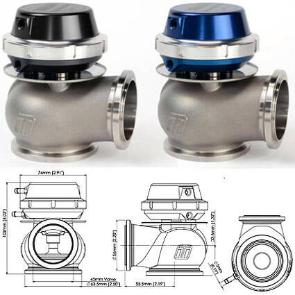 Turbosmart Hyper-Gate45 External Wastegate