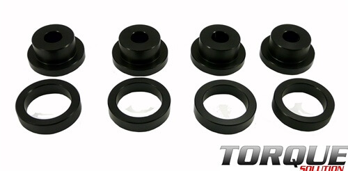 Torque Solution Drive Shaft Carrier Bearing Support Bushings-EVO
