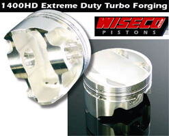 Wiseco Extreme Duty Forged Pistons (6 Bolt 4G63)